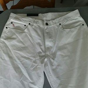 White Polo Pants